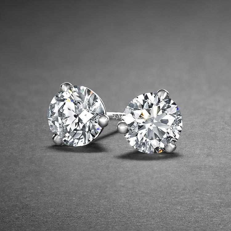 Diamond Earrings Browse Engagement Rings
