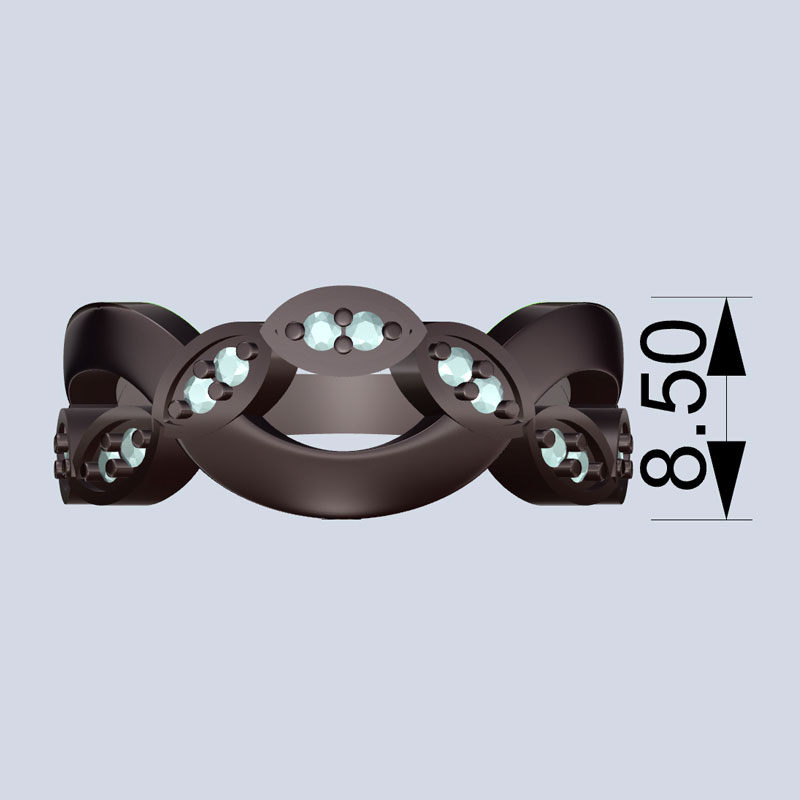 Criss Cross Rendering 4 - Bentley Diamond