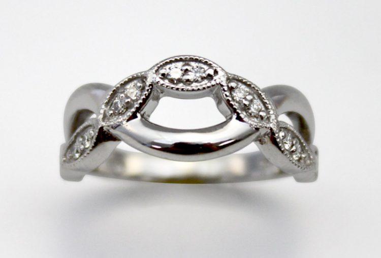 Criss Cross Ring - Bentley Diamond