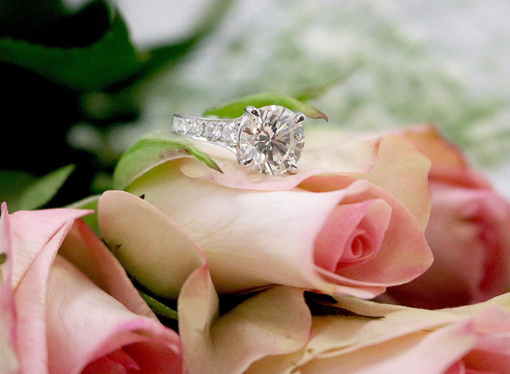Valentine Engagement - Bentley Diamond