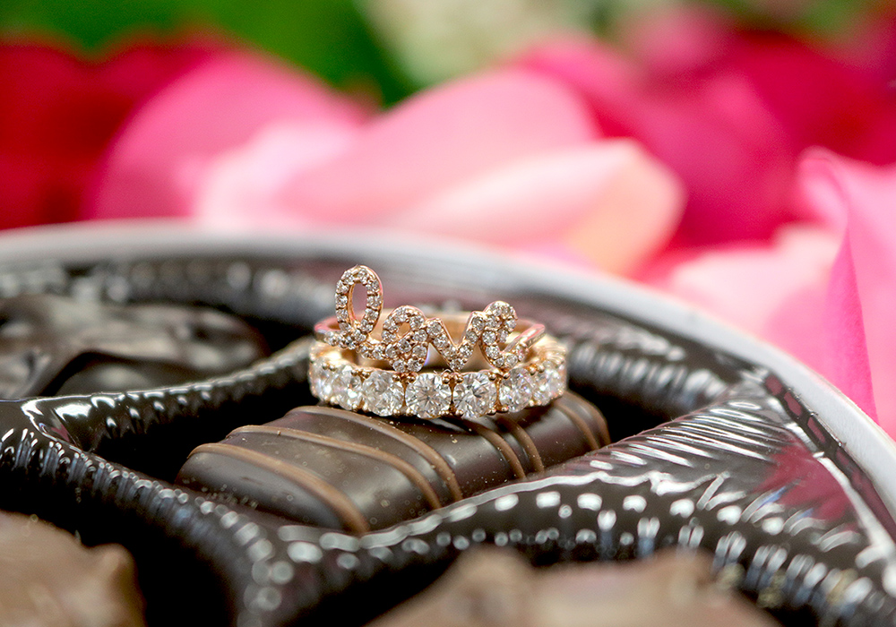Valentine Love Rings - Bentley Diamond