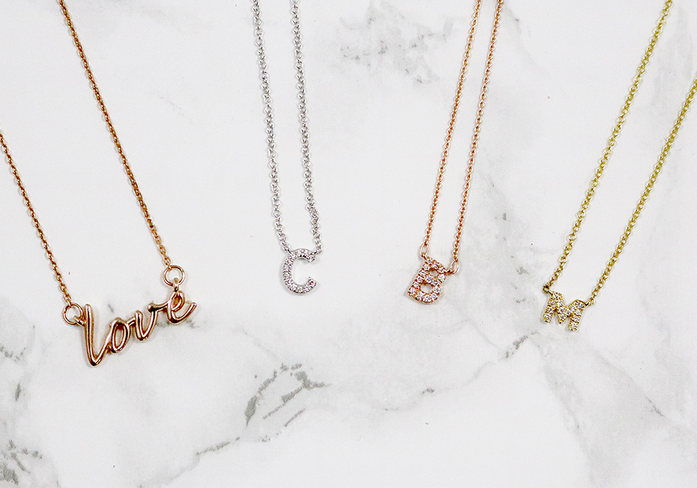 Valentine Necklaces - Bentley Diamond