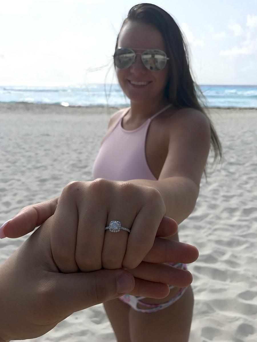 Bentley Diamond - Shelby & Jose Engagement