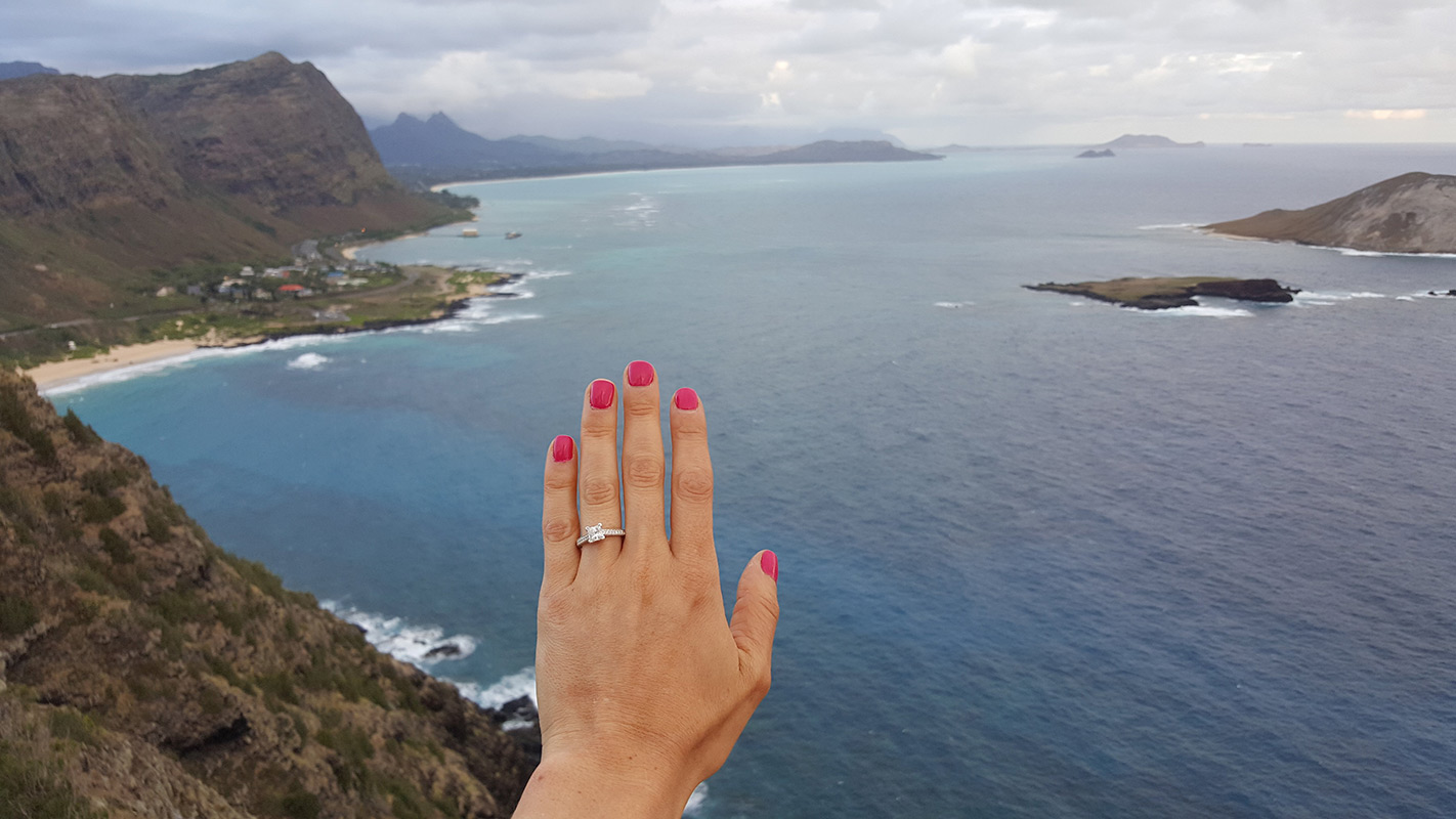 Dana & Scott's Engagement - Bentley Diamond
