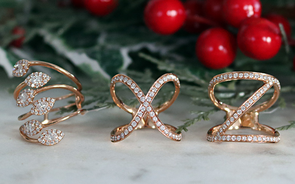 Bentley Diamond - Christmas Crossover X Rings