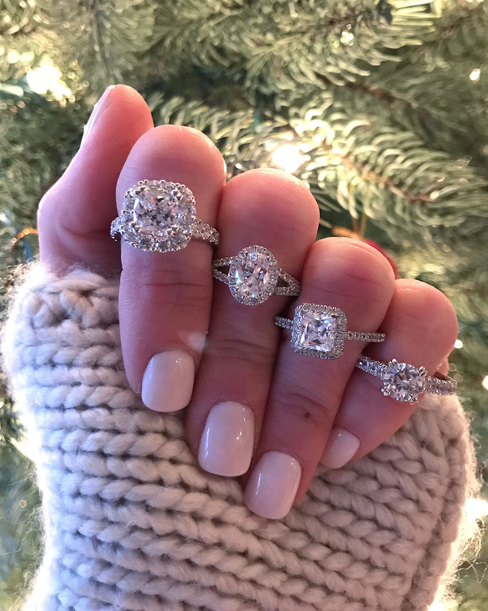 Bentley Diamond - Christmas Engagement RIngs
