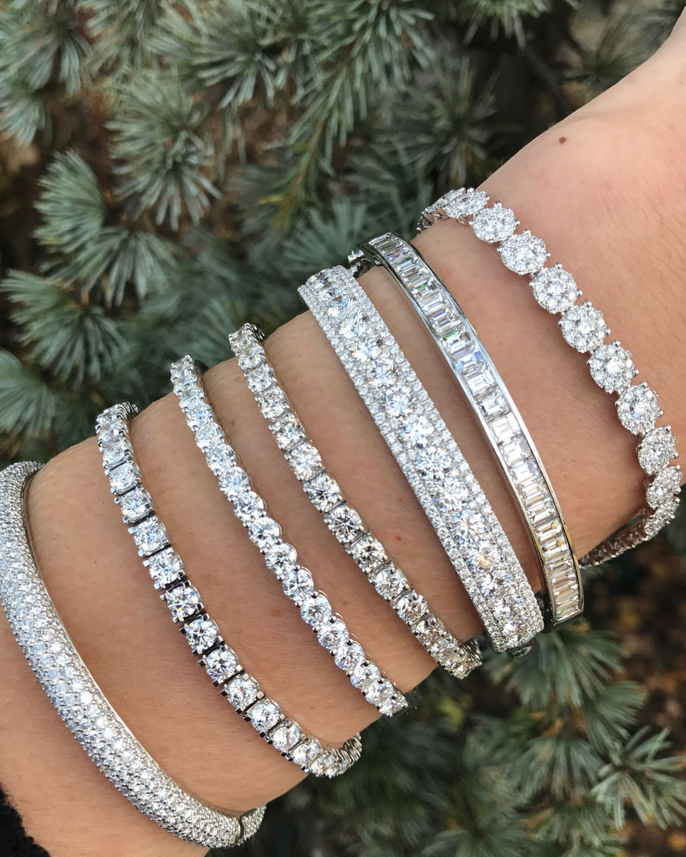 Bentley Diamond - Christmas Diamond Bracelets
