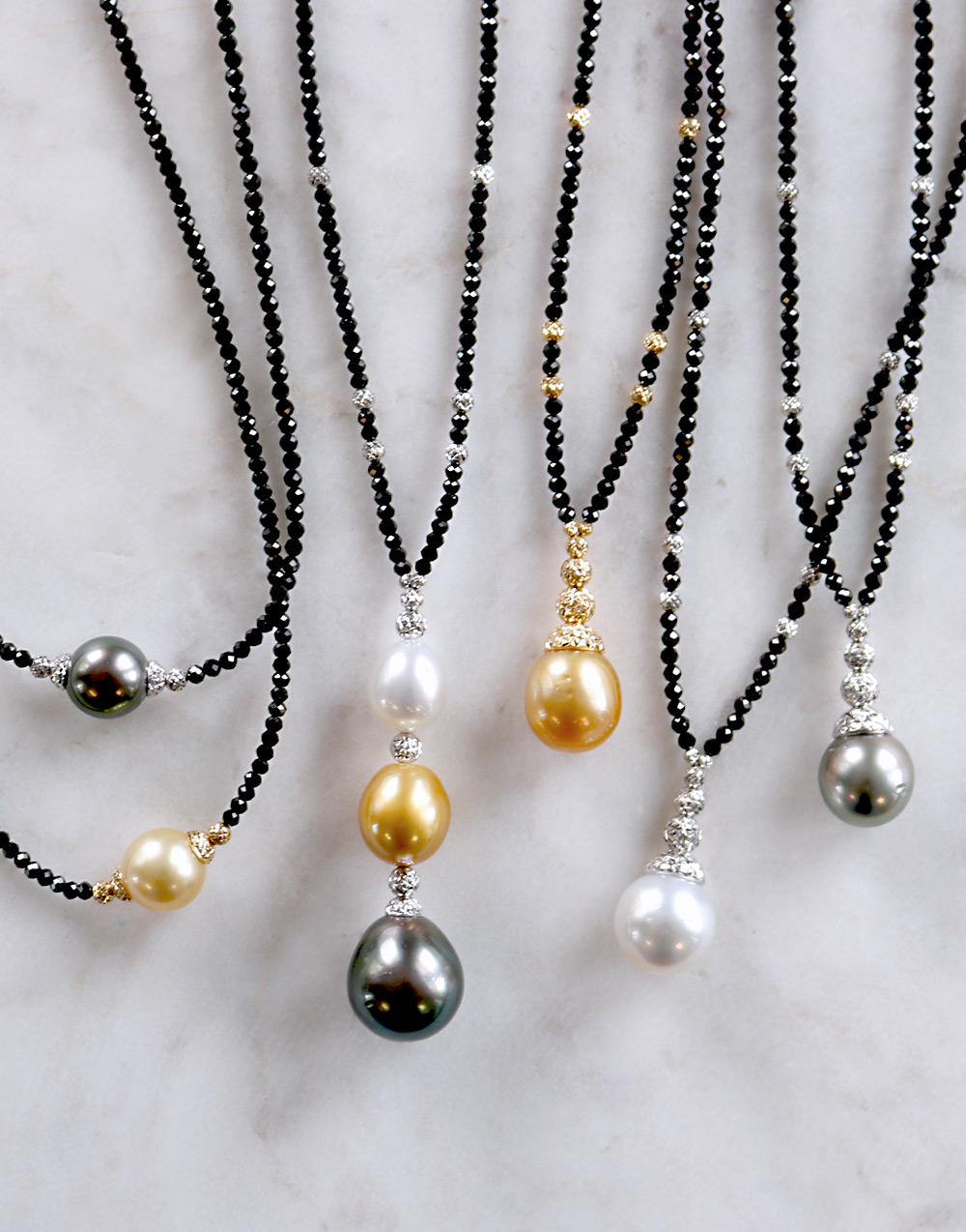 Bentley Diamond - Pearl Necklaces