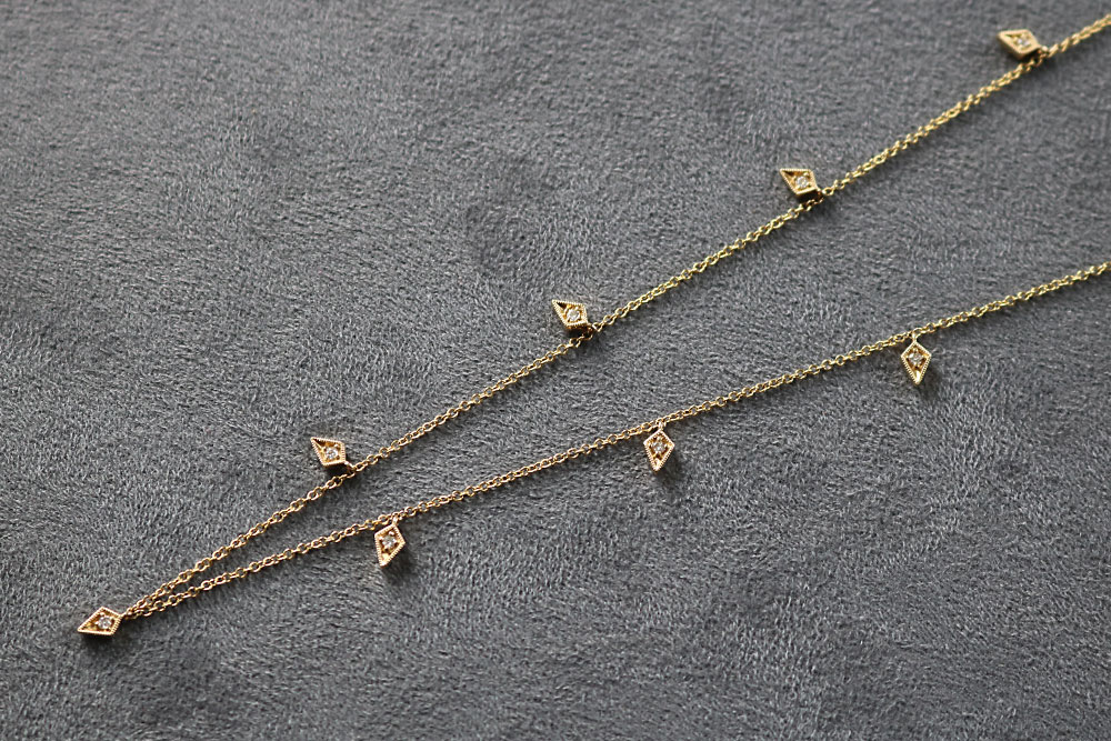 Bentley Diamond - Diamond Yard Necklace