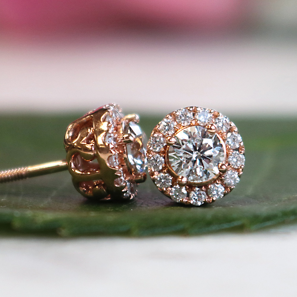 Bentley Diamond - Diamond Stud Earrings
