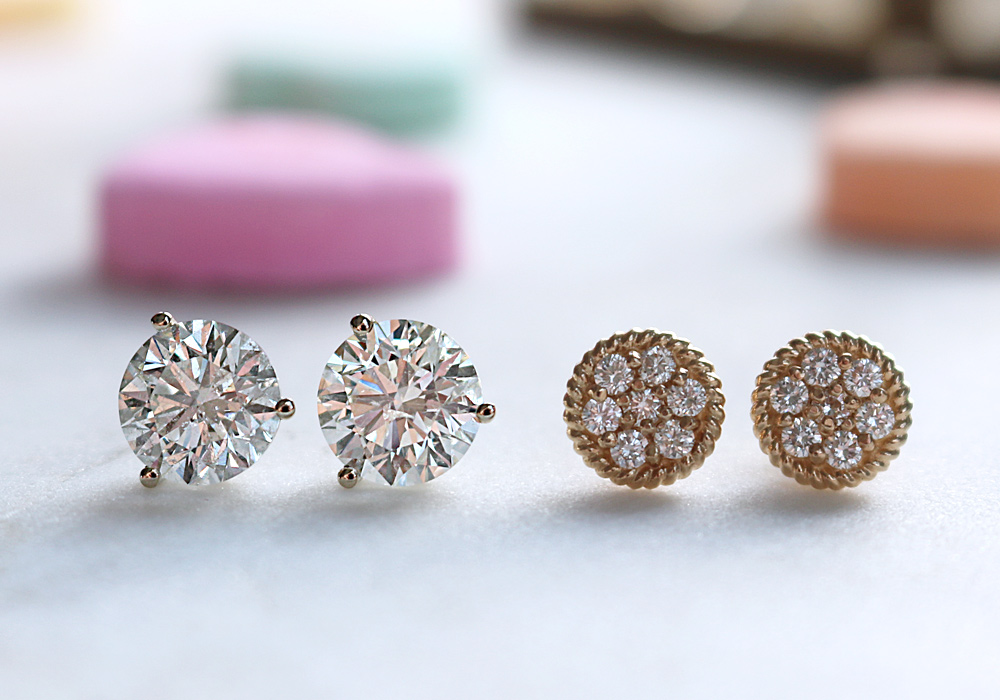 Bentley Diamond - Valentine's Day Earrings