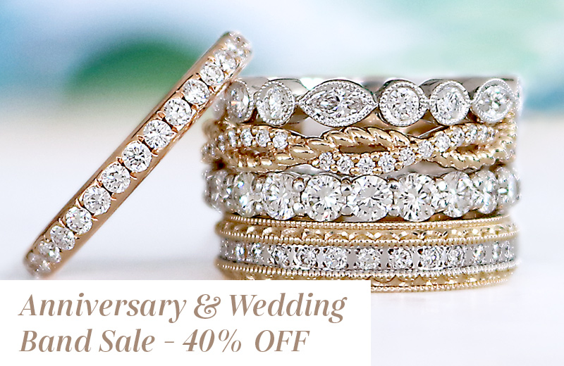 Anniversary Wedding Band Sale