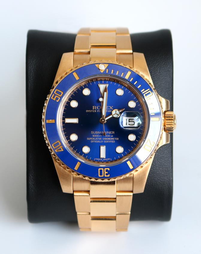 Rolex SUBMARINER 116618 LB - WTC01401