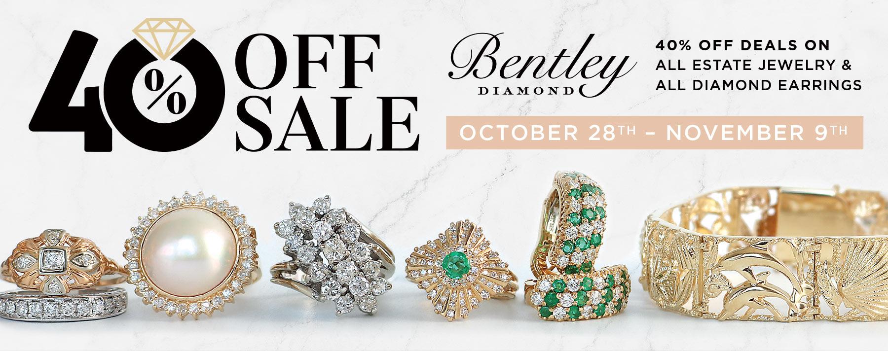 Bentley Diamond- 40% OFF Sale