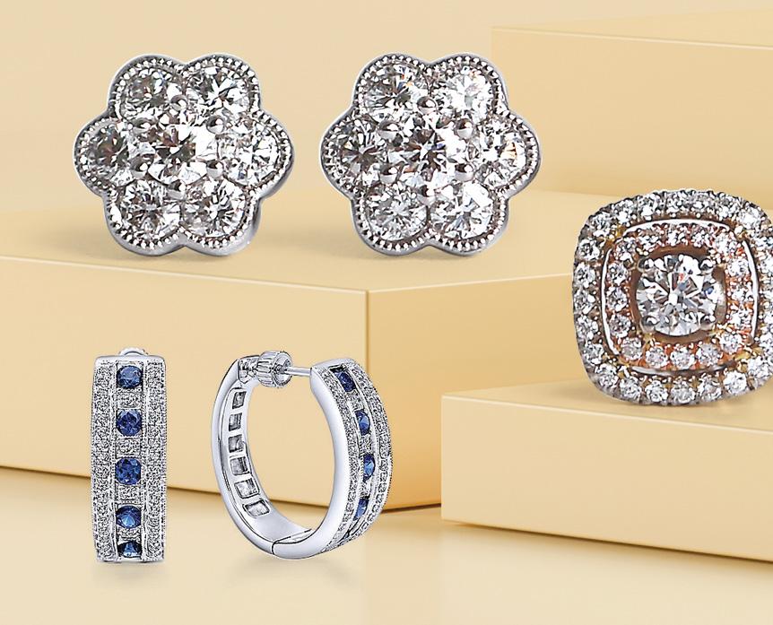 Bentley Diamond - Diamond Earring Sale
