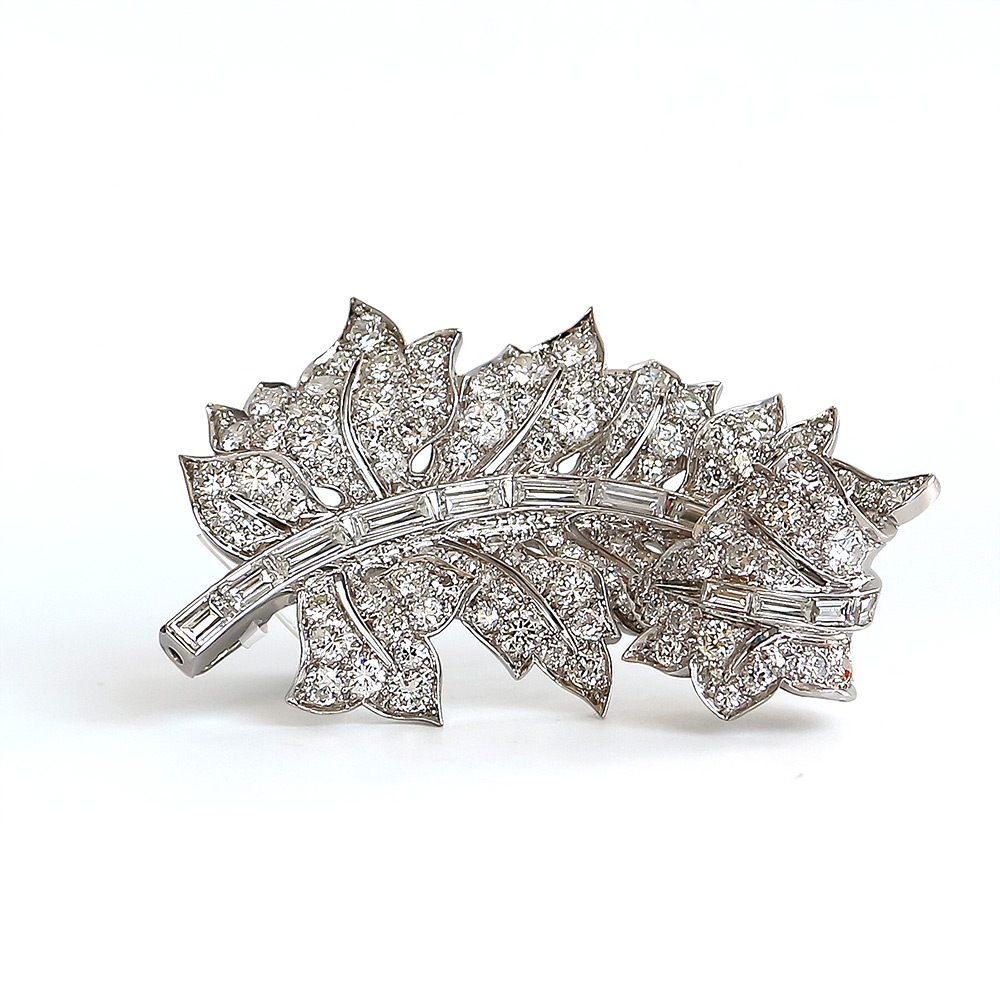 Bentley Diamond - Estate Diamond Brooch