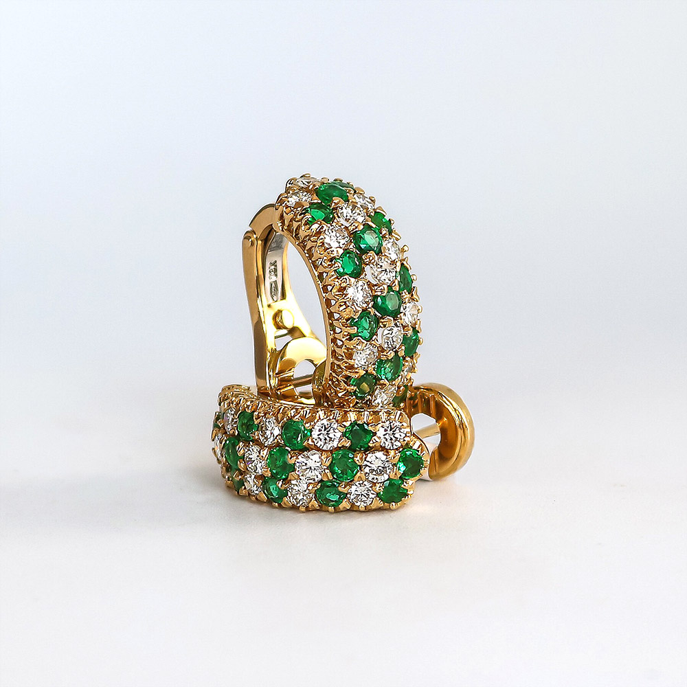 Bentley Diamond - Estate Earrings