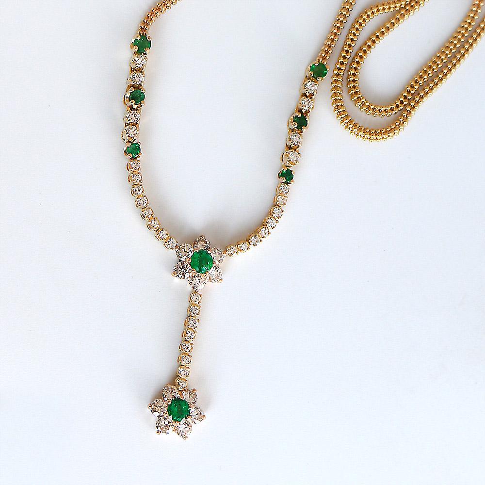 Bentley Diamond - Estate Necklace