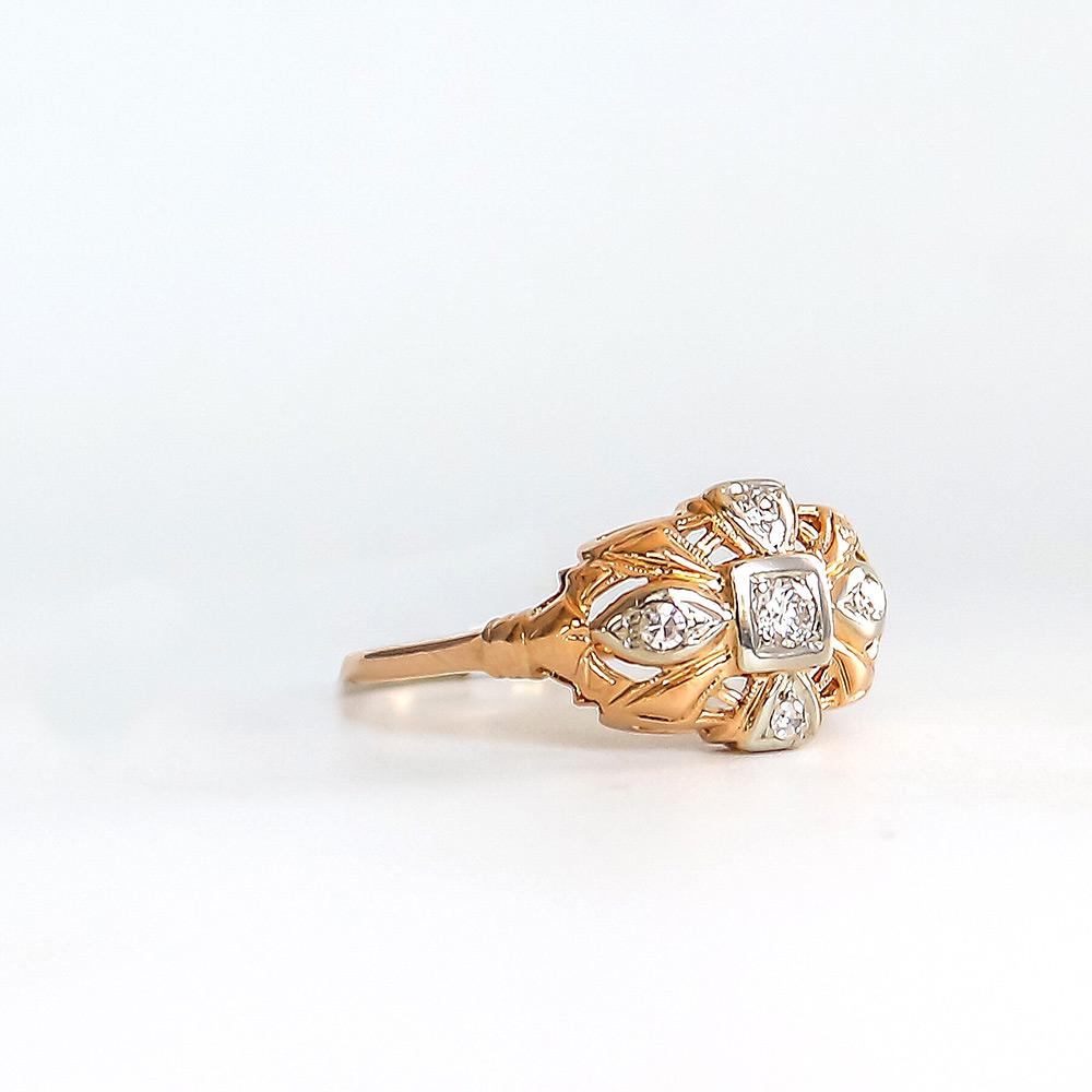 Bentley Diamond - Estate Ring