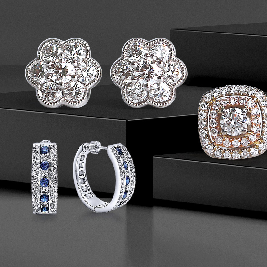 Bentley Diamond - Diamond Earring Sale
