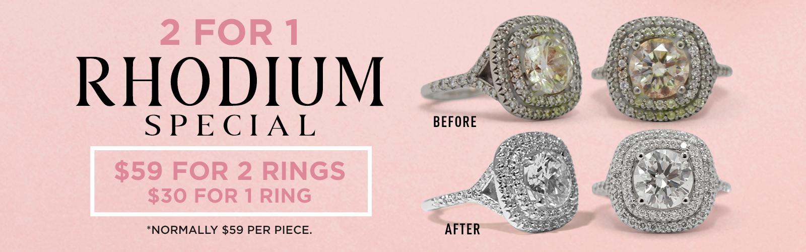 Bentley Diamond - 2 for 1 Rhodium Special