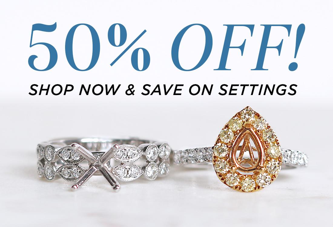 50% OFF Select Settings! - Bentley Diamond