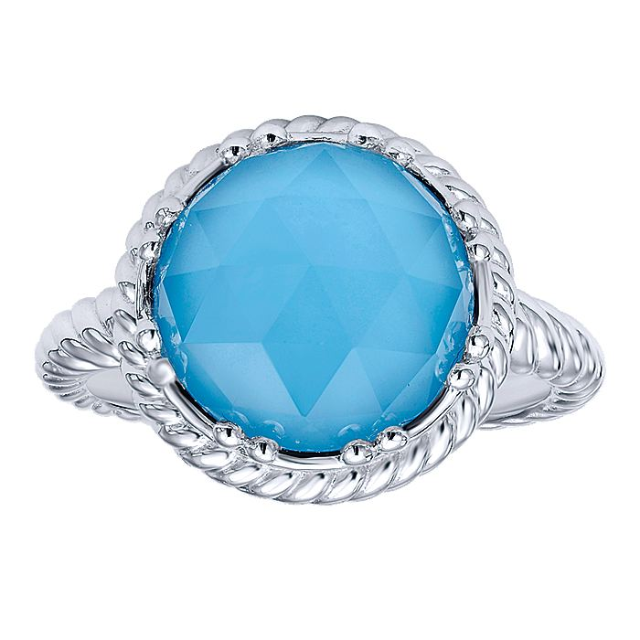 Gabriel-925-Sterling-Silver-Round-Rock-Crystal-and-Turquoise-Twisted-Rope-Ring~LR50156SVJXT-4