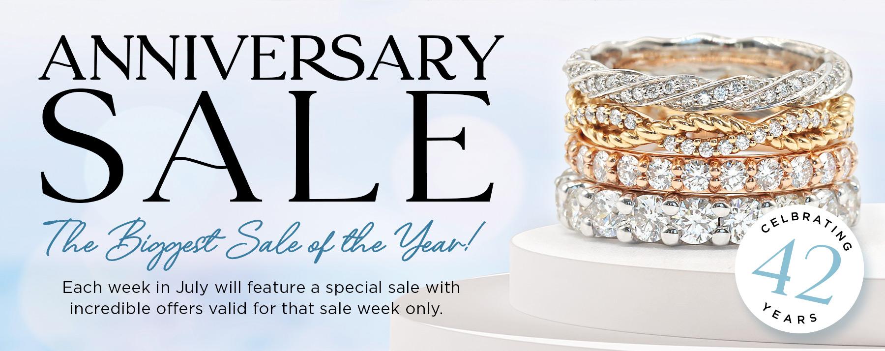 42nd Anniversary Sale