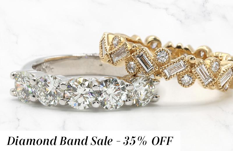 Diamond Band Sale
